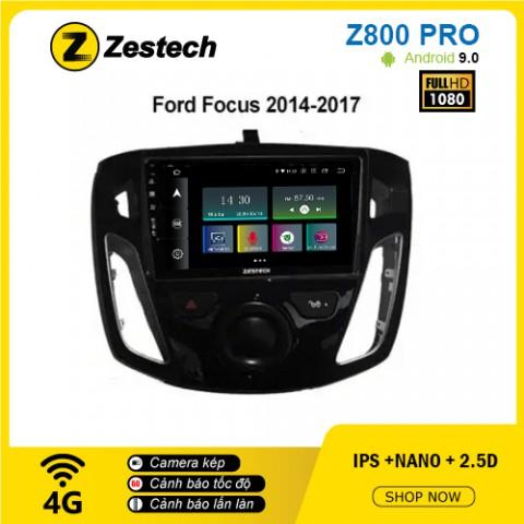 Màn hình ô tô DVD Z800 Pro – Ford Focus