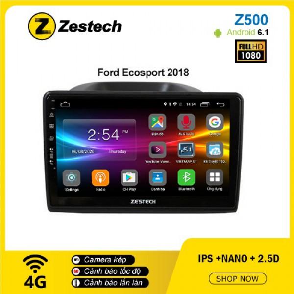 Màn hình ô tô DVD Android Z500 – Ford Ecosport