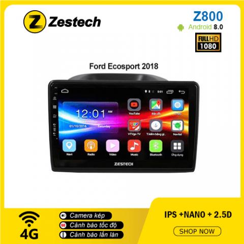 Màn hình ô tô DVD Android Z800 – Ford Ecosport