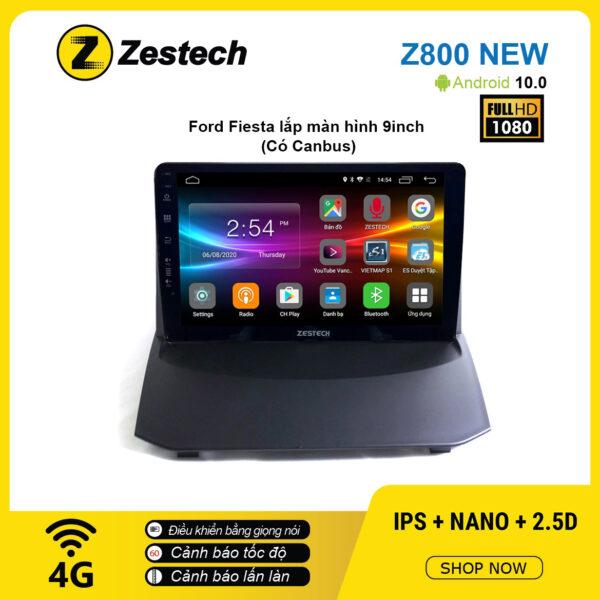 Màn hình ô tô DVD Android Z800 New – Ford Fiesta có Canbus
