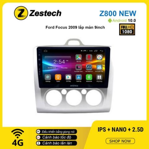Màn hình ô tô DVD Android Z800 New – Ford Focus 2009
