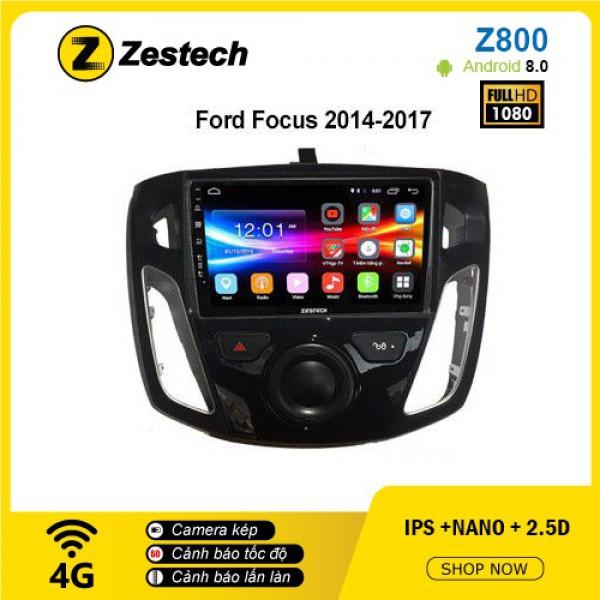 Màn hình ô tô DVD Android Z800 – Ford Focus
