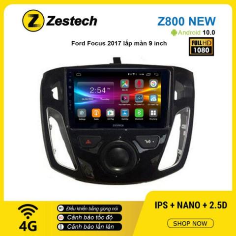 Màn hình ô tô DVD Android Z800 New – Ford Focus 2017