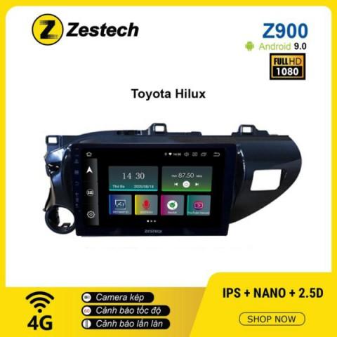 Màn hình ô tô DVD Android Z900 – Toyota Hilux