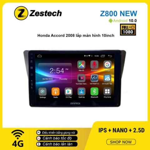 Màn hình ô tô DVD Android Z800 New – Honda Accord 2008