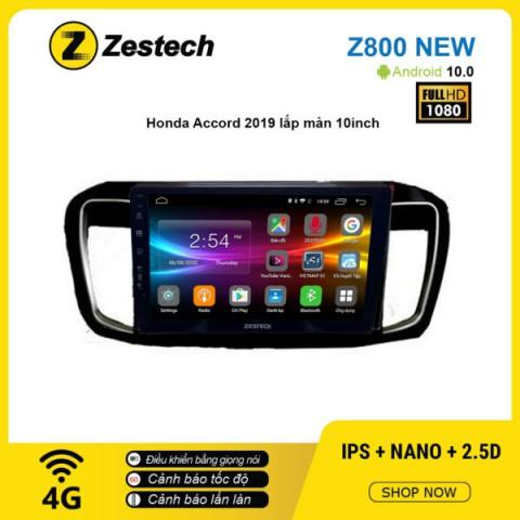 Màn hình ô tô DVD Android Z800 New – Honda Accord 2019