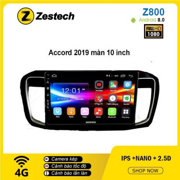 Màn hình ô tô DVD Android Z800 – Honda Accord
