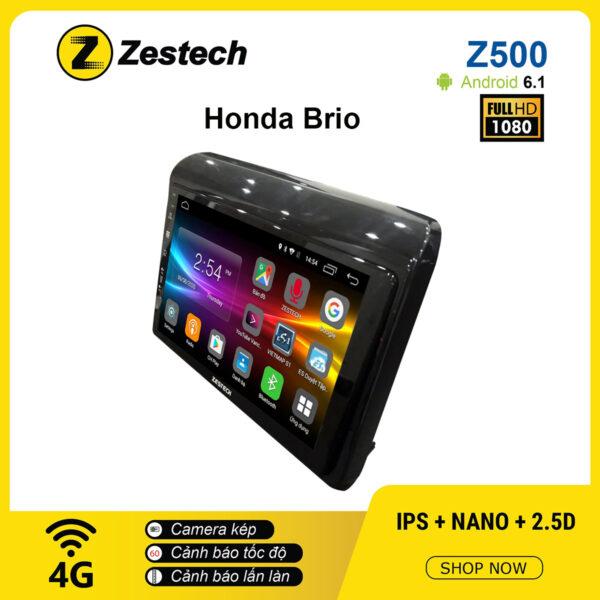 Màn hình ô tô DVD Android Z500 – Honda Brio