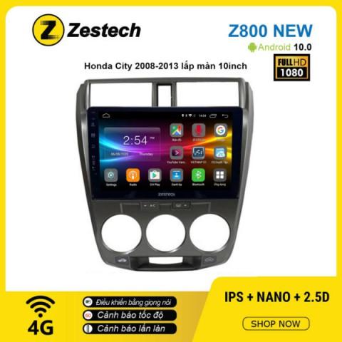 Màn hình ô tô DVD Android Z800 New – Honda City 2008 – 2013