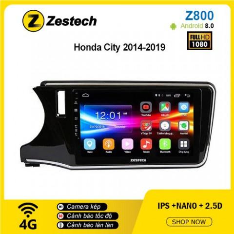 Màn hình ô tô DVD Android Z800 – Honda City