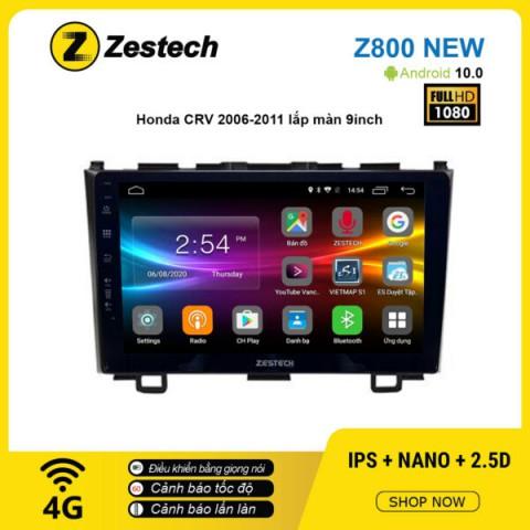 Màn hình ô tô DVD Android Z800 New – Honda CRV 2006 – 2011