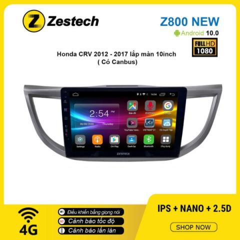 Màn hình ô tô DVD Android Z800 New – Honda CRV 2012 – 2017 có Canbus