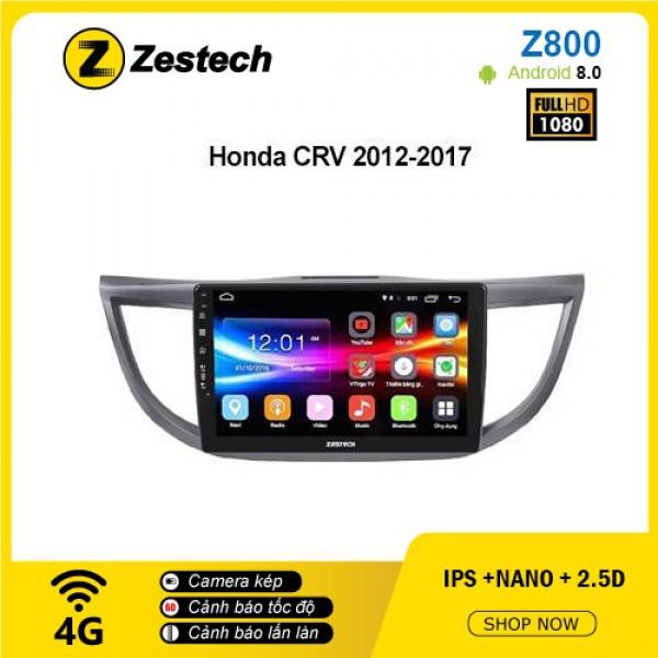 Màn hình ô tô DVD Android Z800 – Honda CRV