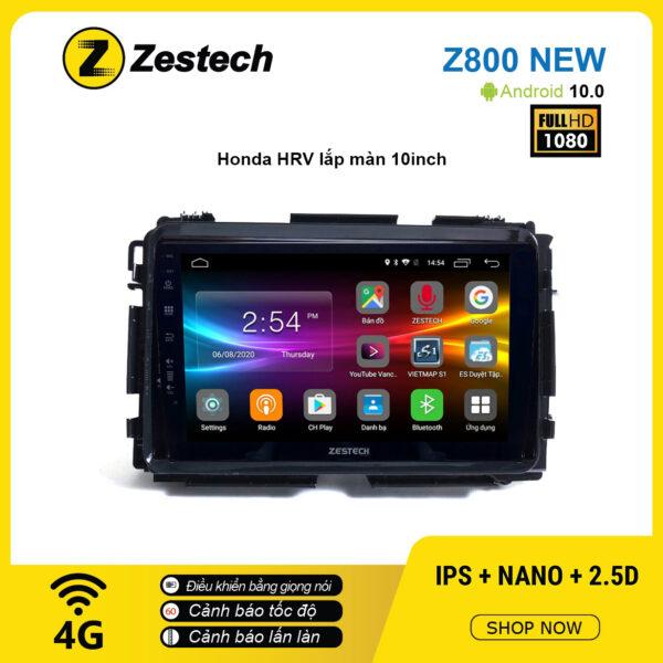 Màn hình ô tô DVD Android Z800 New – Honda HRV 10inch
