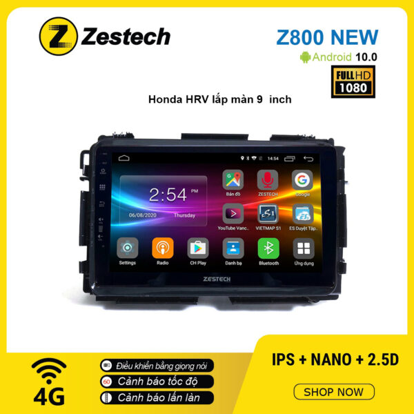 Màn hình ô tô DVD Android Z800 New – Honda HRV 9inch