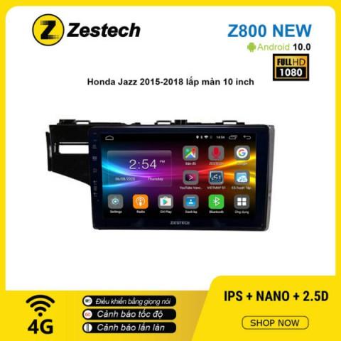 Màn hình ô tô DVD Android Z800 New – Honda Jazz 2015 – 2018