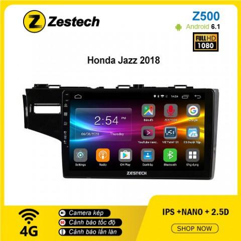 Màn hình ô tô DVD Android Z500 – Honda Jazz