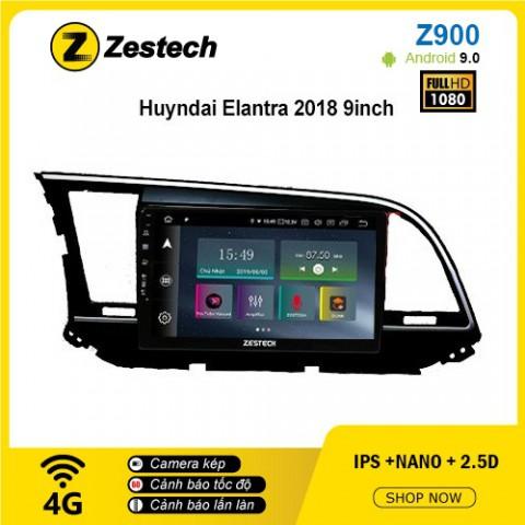 Màn hình ô tô DVD Android Z900 – Hyundai Elantra