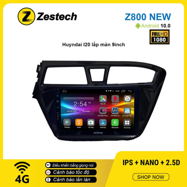 Màn hình ô tô DVD Android Z800 New – Huyndai I20