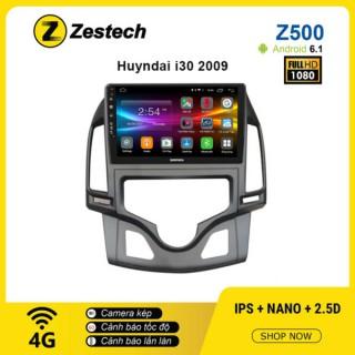 Màn hình ô tô DVD Android Z500 – Hyundai i30 tự động