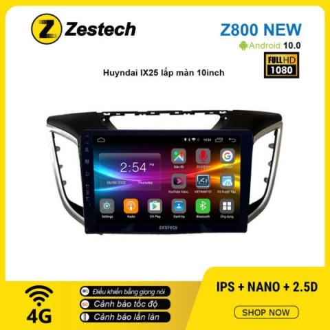 Màn hình ô tô DVD Android Z800 New – Huyndai IX25