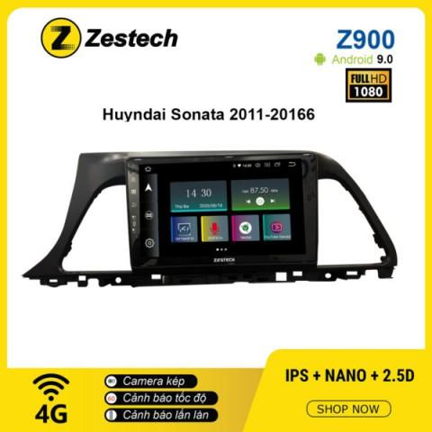 Màn hình ô tô DVD Android Z900 – Hyundai Sonata 2011 – 2016