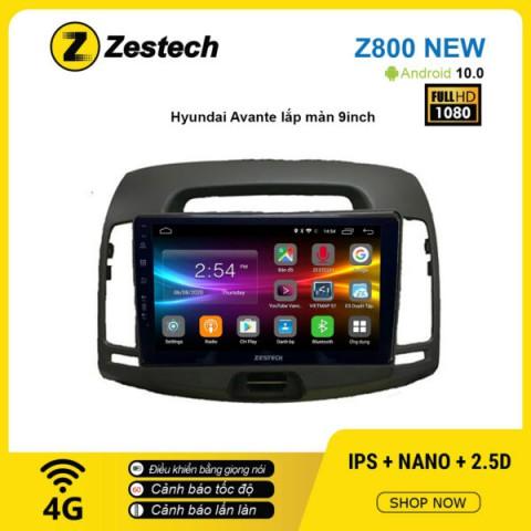Màn hình ô tô DVD Android Z800 New – Huyndai Avante