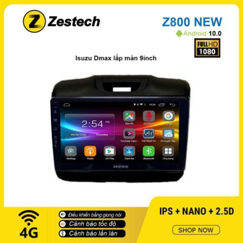 Màn hình ô tô DVD Android Z800 New – Isuzu Dmax