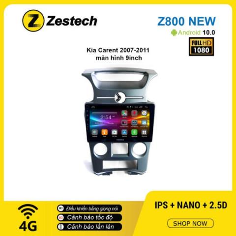Màn hình ô tô DVD Android Z800 New – KIA Carens 2007 – 2011