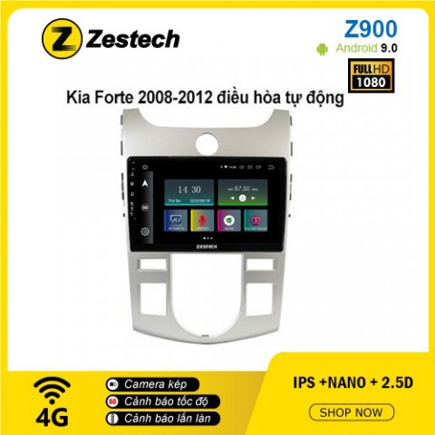 Màn hình ô tô DVD Android Z900 – Kia Forte