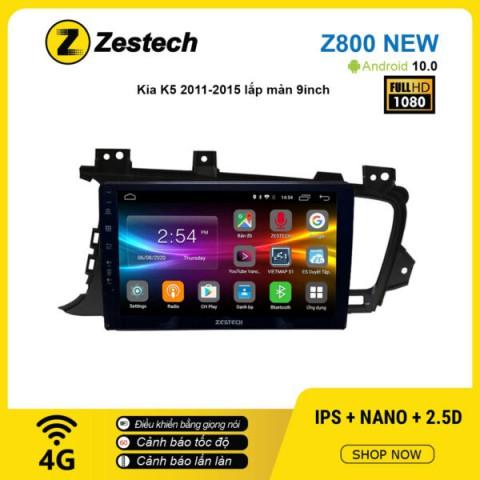 Màn hình ô tô DVD Android Z800 New – KIA K5 2011 – 2015