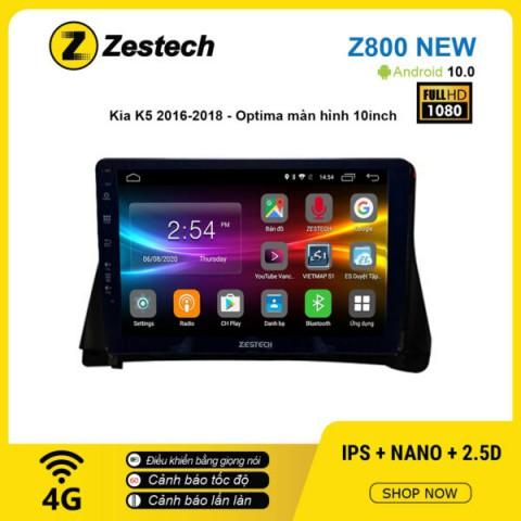Màn hình ô tô DVD Android Z800 New – KIA K5 2016 – 2018 Optima