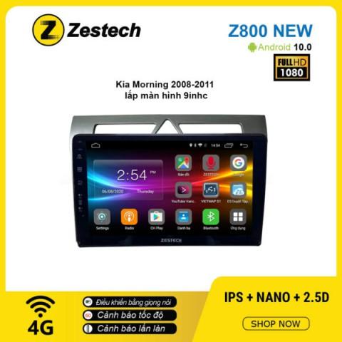 Màn hình ô tô DVD Android Z800 New – KIA Morning 2008 – 2011
