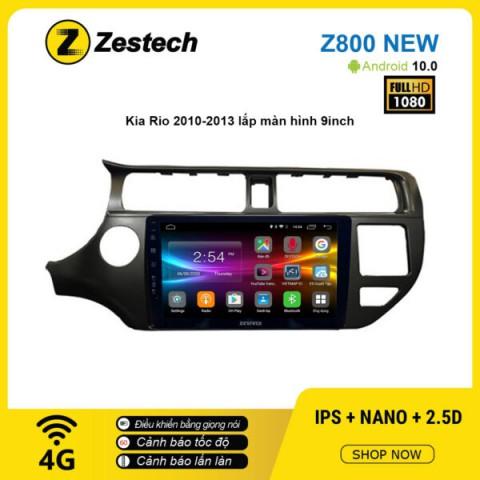 Màn hình ô tô DVD Android Z800 New – KIA Rio 2010 – 2013