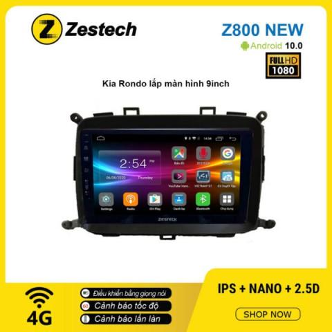 Màn hình ô tô DVD Android Z800 New – KIA Rondo