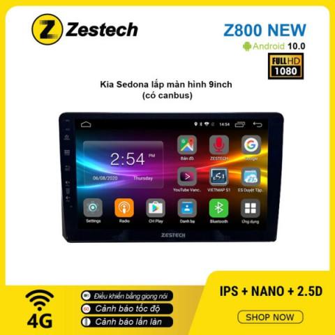 Màn hình ô tô DVD Android Z800 New – KIA Sedona có Canbus