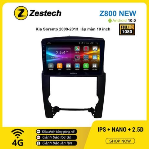 Màn hình ô tô DVD Android Z800 New – KIA Sorento 2009 – 2013
