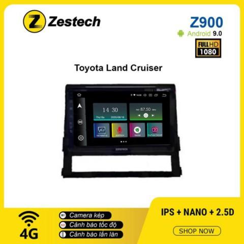 Màn hình ô tô DVD Android Z900 – Toyota Land Cruiser