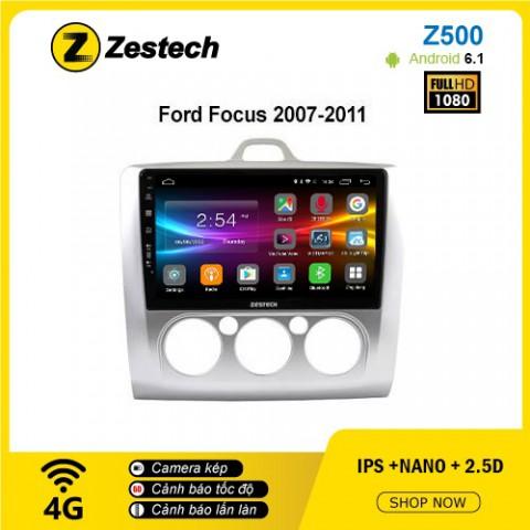 Màn hình ô tô DVD Android Z500 – Ford Focus