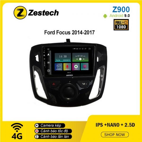Màn hình ô tô DVD Android Z900 – Ford Focus