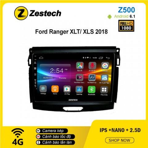 Màn hình ô tô DVD Android Z500 – Ford Ranger