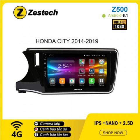 Màn hình ô tô DVD Android Z500 – Honda City