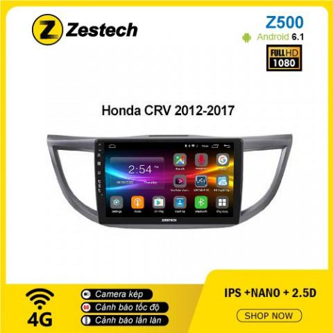 Màn hình ô tô DVD Android Z500 – Honda CRV