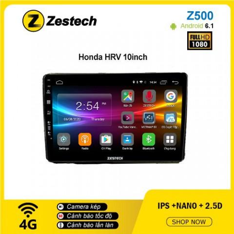 Màn hình ô tô DVD Android Z500 – Honda HRV
