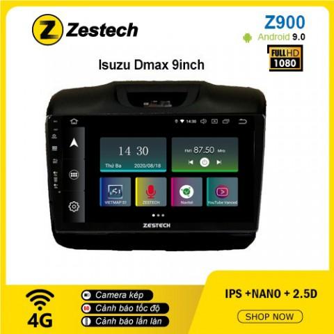 Màn hình ô tô DVD Android Z900 – Isuzu Dmax