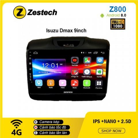 Màn hình ô tô DVD Android Z800 – Isuzu Dmax