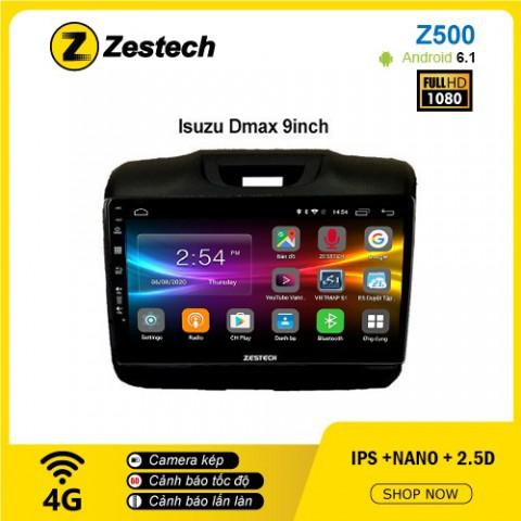 Màn hình ô tô DVD Android Z500 – Isuzu Dmax