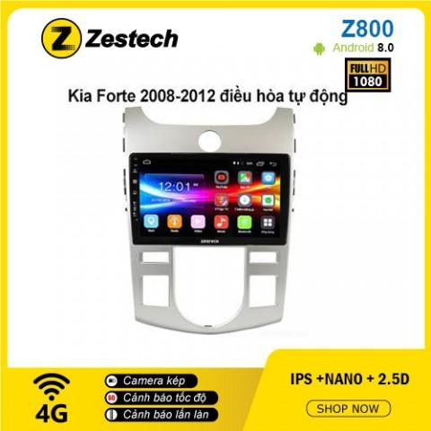 Màn hình ô tô DVD Android Z800 – Kia Forte