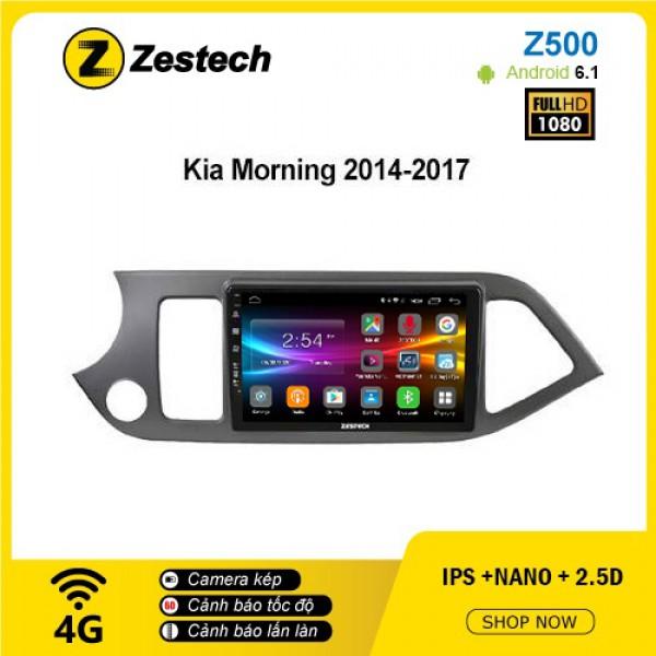 Màn hình ô tô DVD Android Z500 – Kia Morning