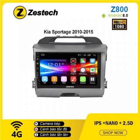 Màn hình ô tô DVD Android Z800 – Kia Sportage